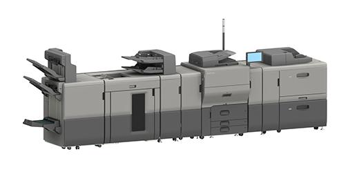 Цветные листовые принтеры серии Ricoh Pro C5300 — это высокий уровень производительности и качества и поддержка различных материалов